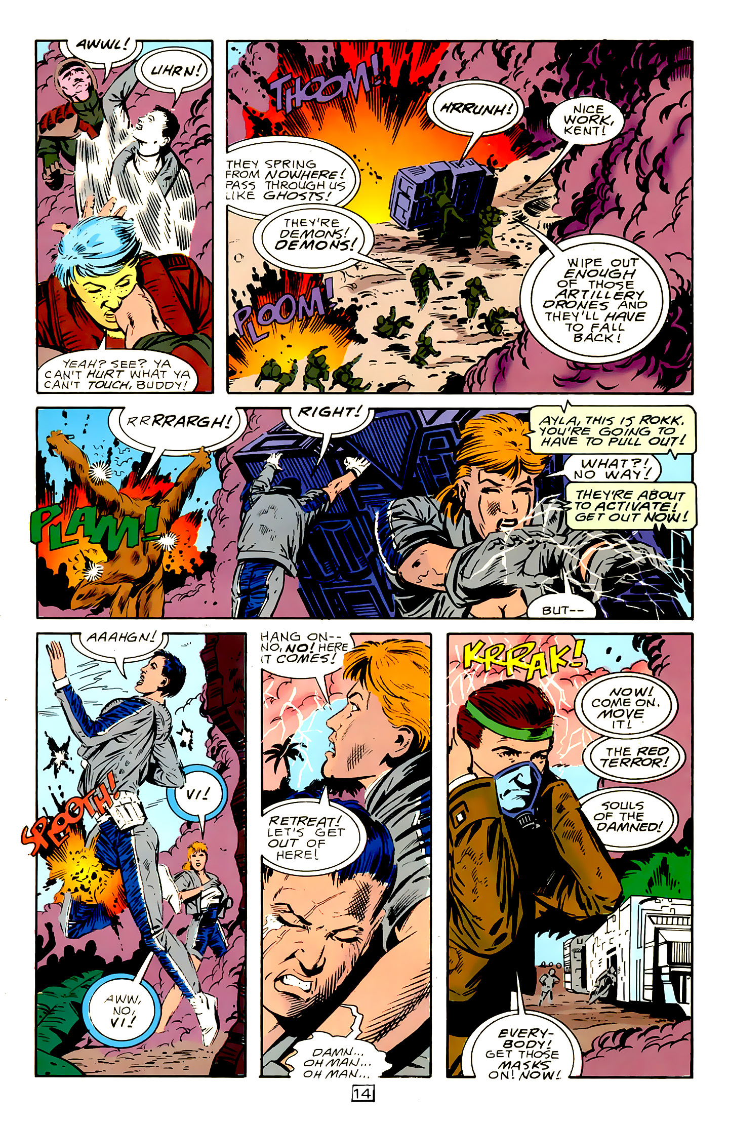 Legion of Super-Heroes (1989) 15 Page 14