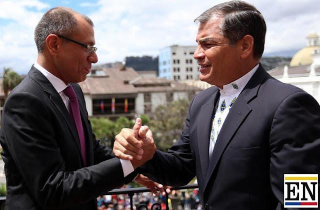 Jorge Glas Rafael Correa corrupcion