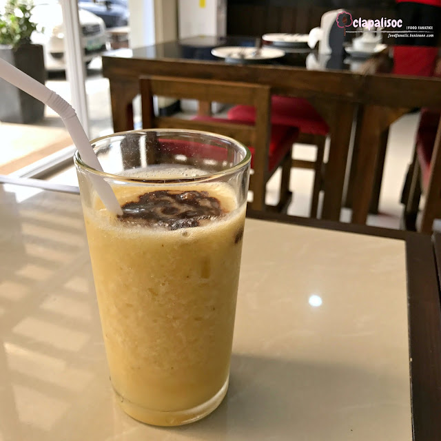 Banana Chocolate Smoothie from Mei Wei Chinese Kitchen