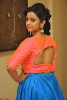 Nithya Shetty in Orange Choli at Kalamandir Foundation 7th anniversary Celebrations ~  Actress Galleries 058.JPG