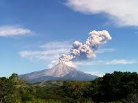 Colima Volcano Eruption