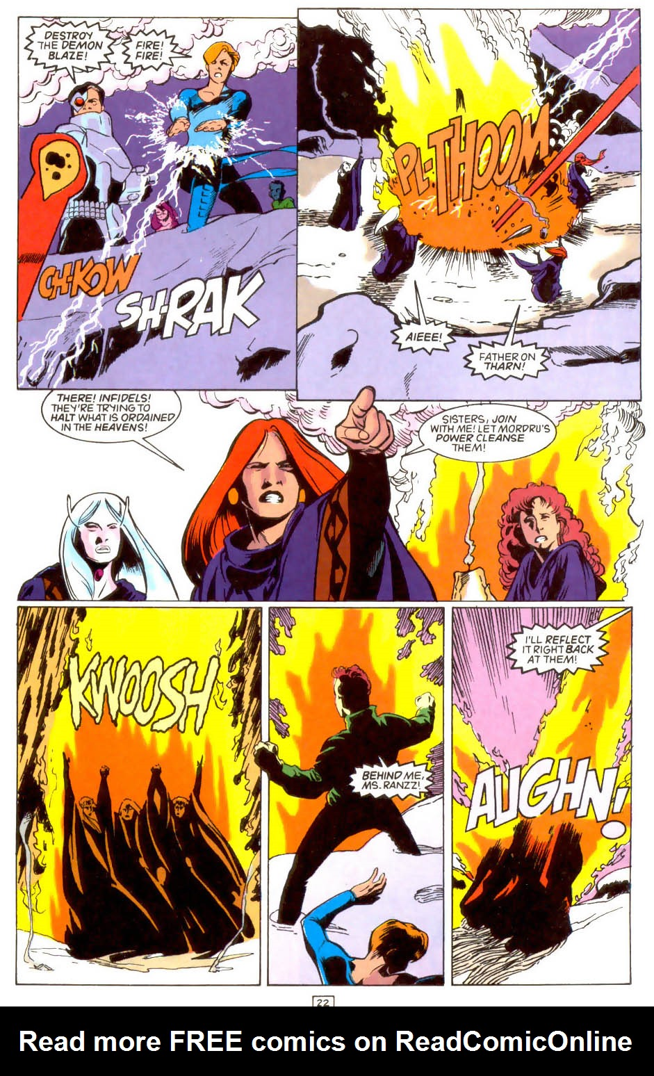 Legion of Super-Heroes (1989) 46 Page 22
