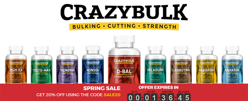 Crazybulk Coupon Code UK   Get the Latest Discount Deals and