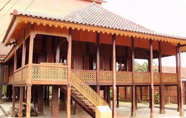 Rumah Adat Lampung Nuwou Sesat Konstruksi dan