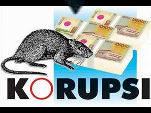 Illustrasi Korupsi. Gambar dari Internet
