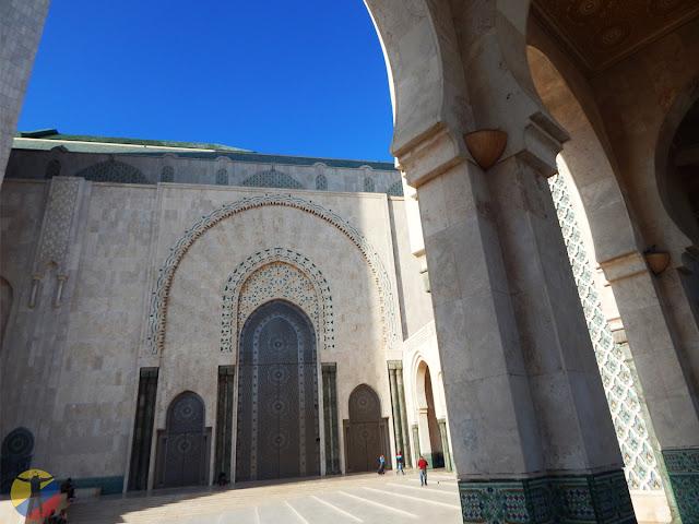 Puertas de la Mezquita Hassan II