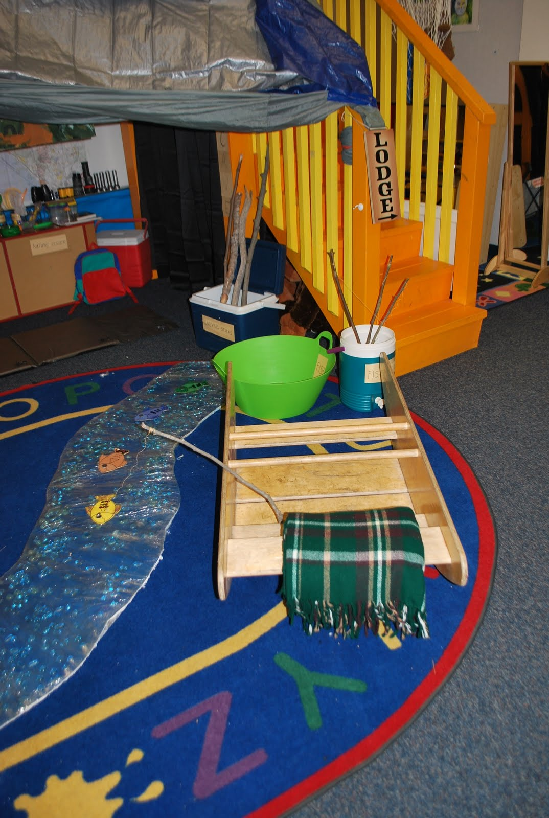 Familylicious Preschool Projects: Camping And Native