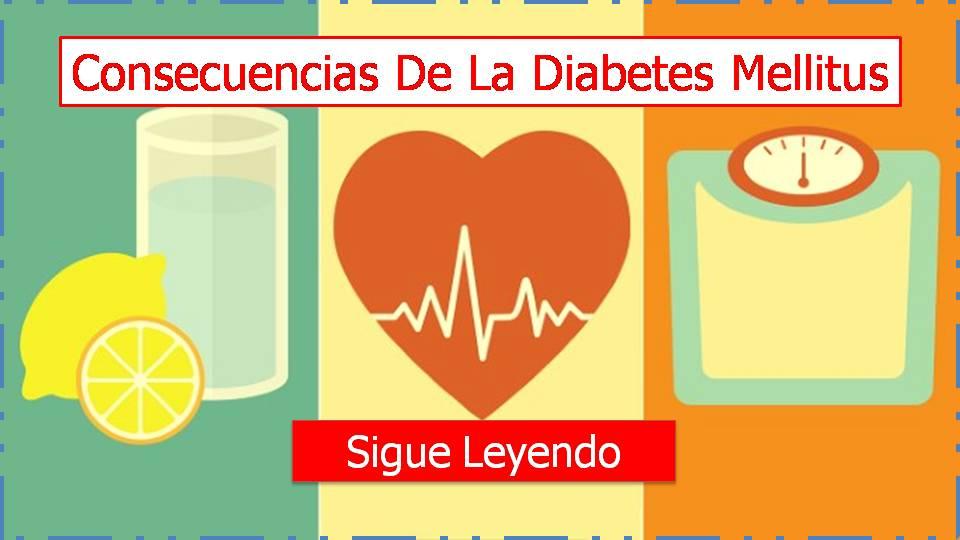 consecuencias de la diabetes mellitus