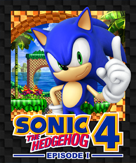 Sonic the Hedgehog 4 - Episode1 cover 2
