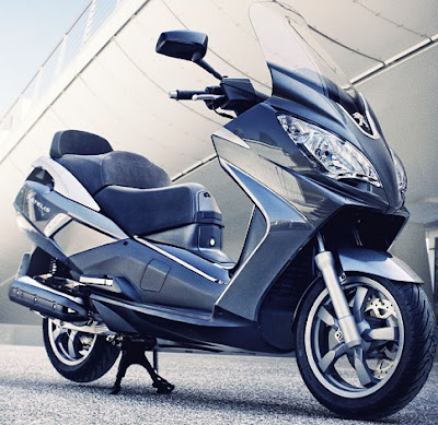 2016 New Scooter  Peugeot Satelis 125cc blue edition image