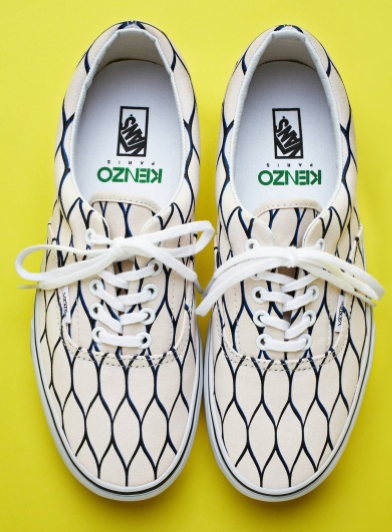 Frolic Fishnets Vans By Kenzo Spring Summer 2012 Shoeography