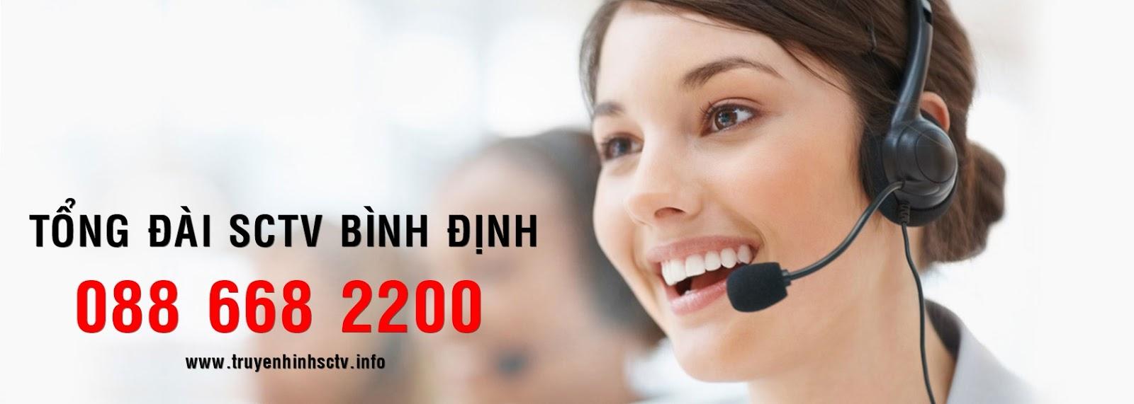 Tổng đài SCTV Bình Định: 0886682200