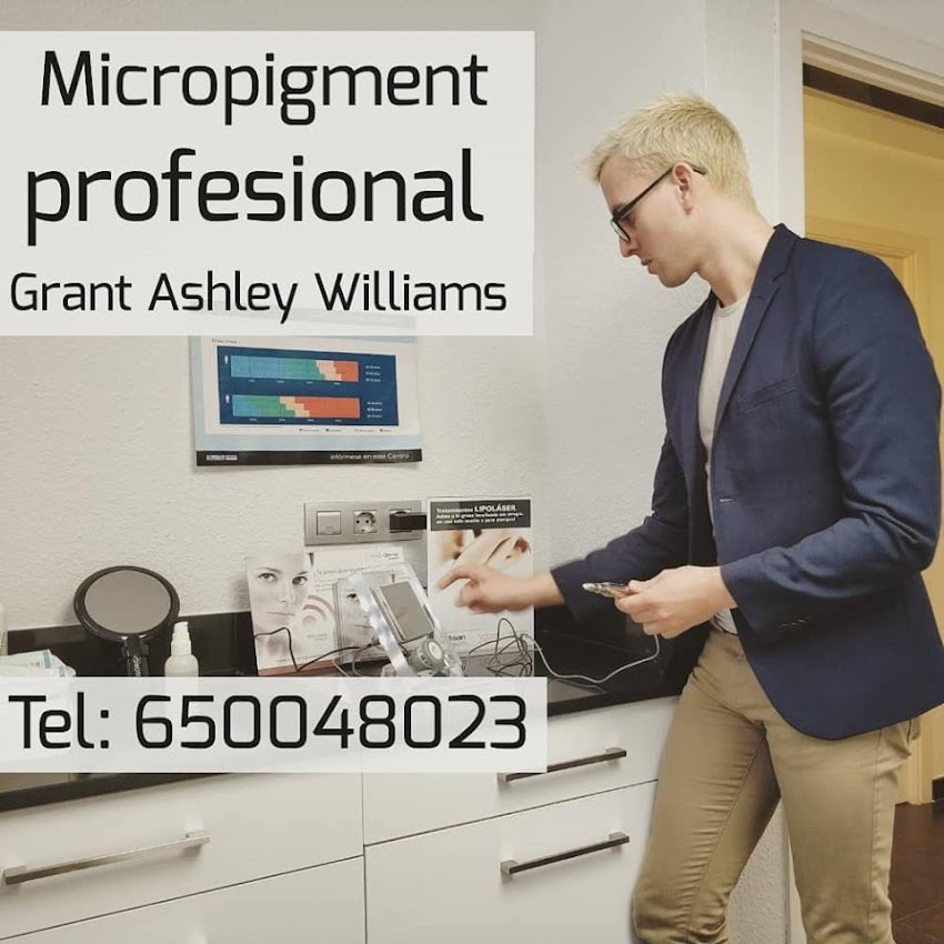 Micropigmentacion profesional realizado por Grant Ashley Williams