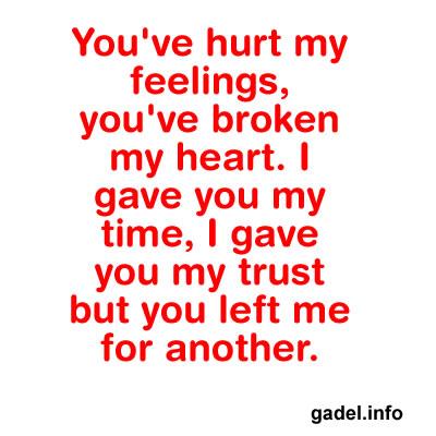 hurt feelings poems -#main