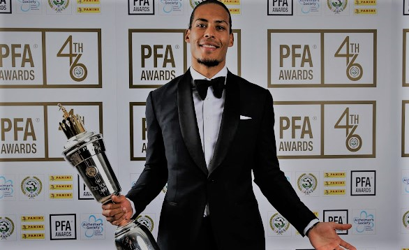 Liverpool's Virgil van Dijk compensated for close ideal season with PFA Player of the Year grant - rictasblog