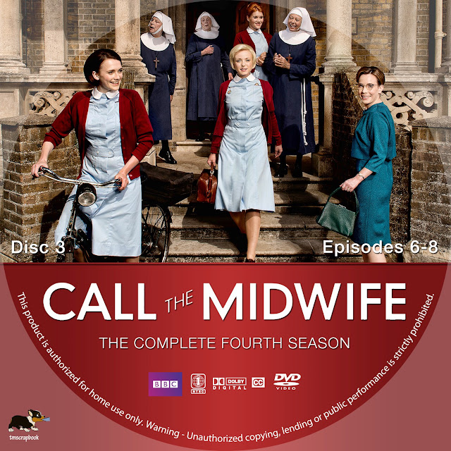 Call The Midwife Season 4 Disc 3 DVD Label