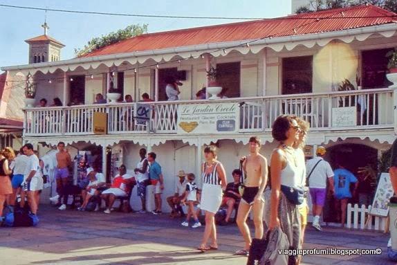 Les Saintes, turisti al porto