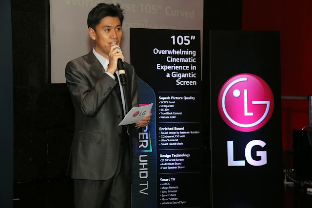 Hoony Bae Vp of LG Philippines Home Entertainment