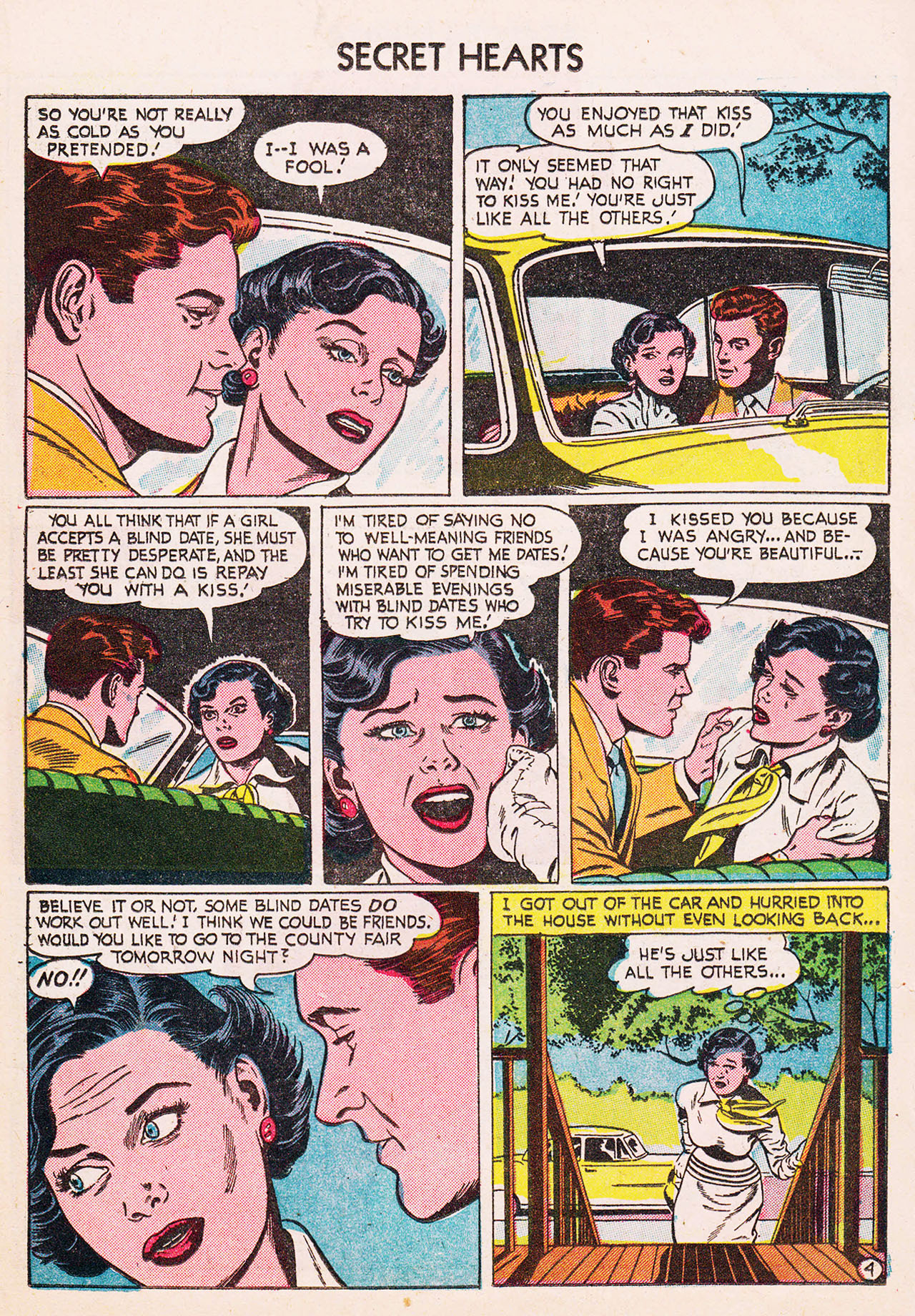 Read online Secret Hearts comic -  Issue #24 - 15