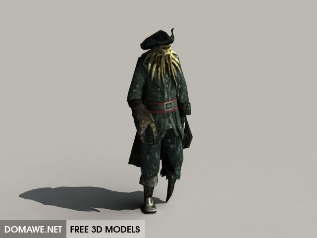 DOMAWE net: Davy Jones 3D Model Free Download