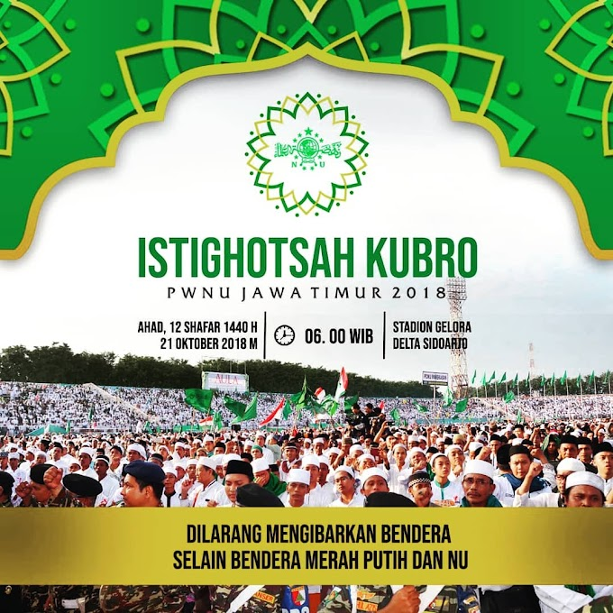 Download Teks Istighotsah Kubro PWNU Jatim 28 Oktober 2018