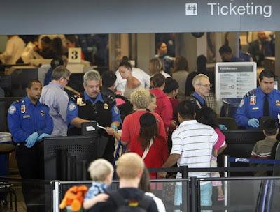 TSA officers LAX Airport