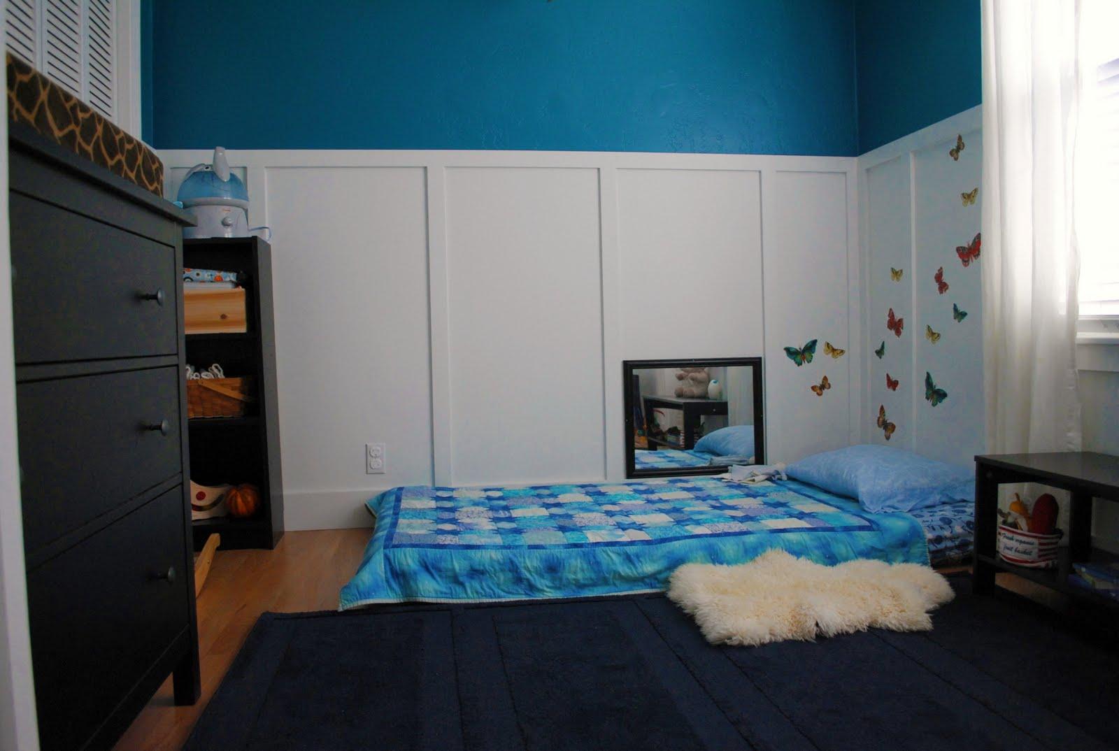 Musings Marshall S Montessori Bedroom