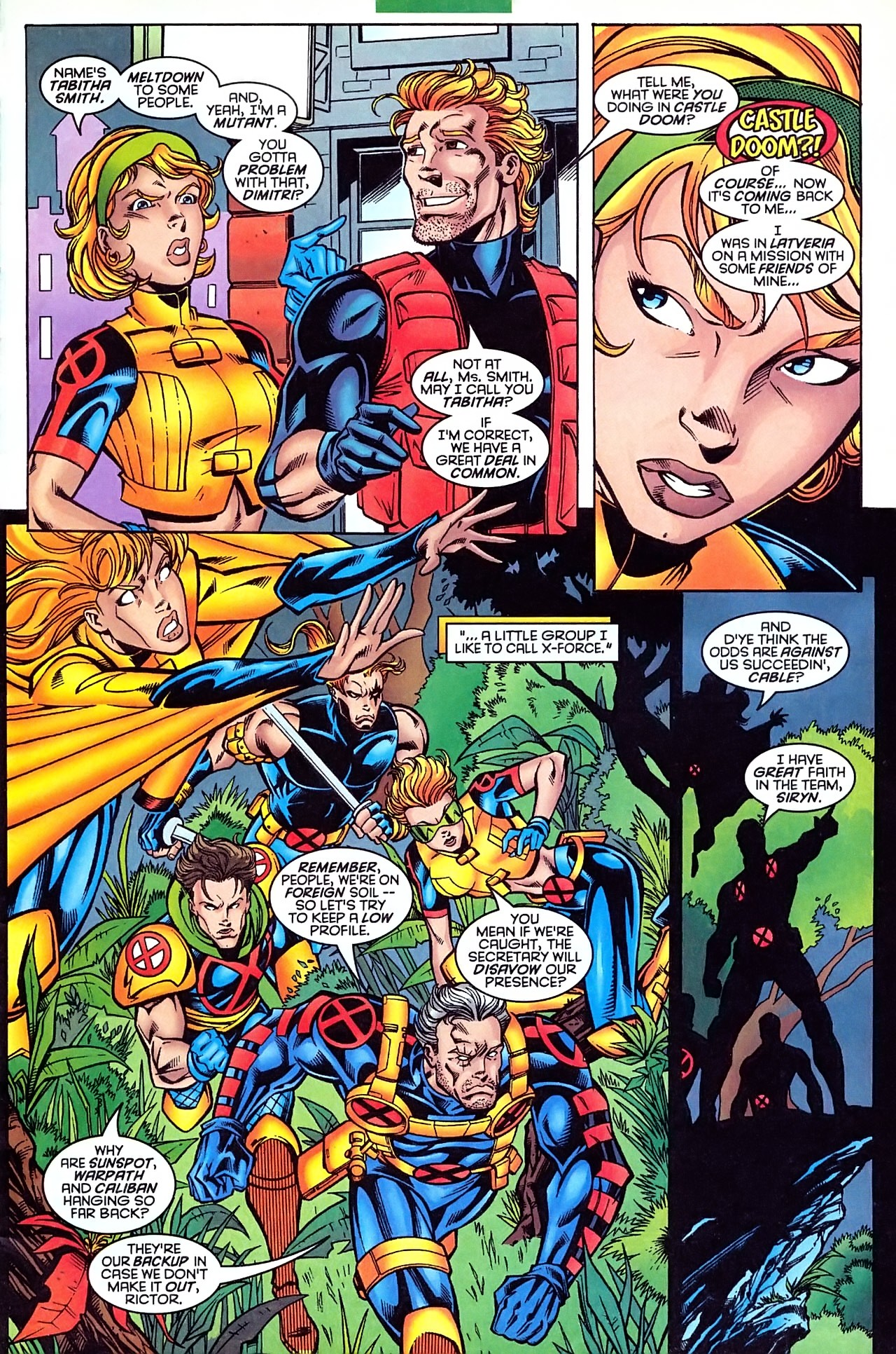 Read online X-Force (1991) comic -  Issue #63 - 9