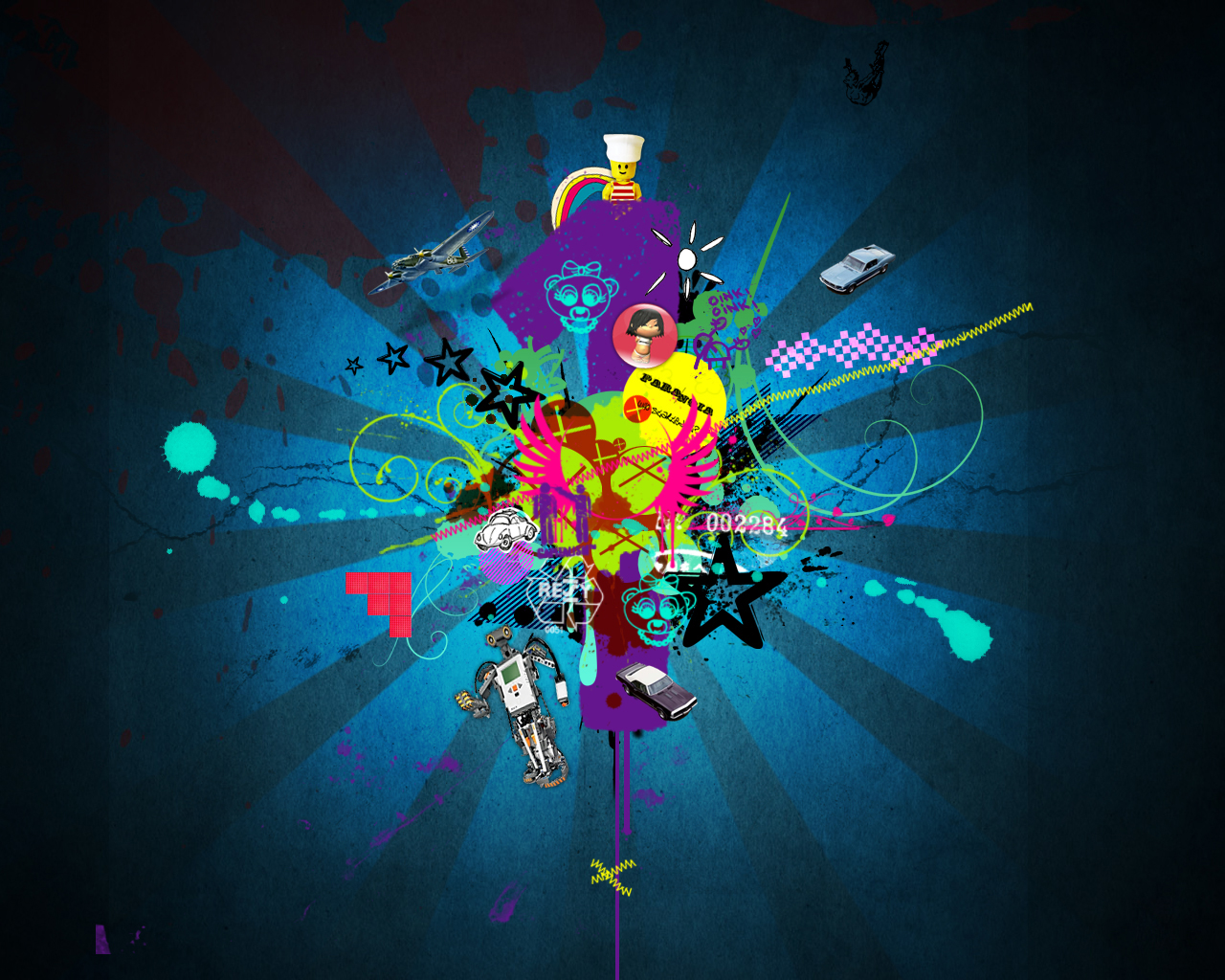 Creative Graphics Design Background: Create Ribbons And Other Cool Graphics In Seconds