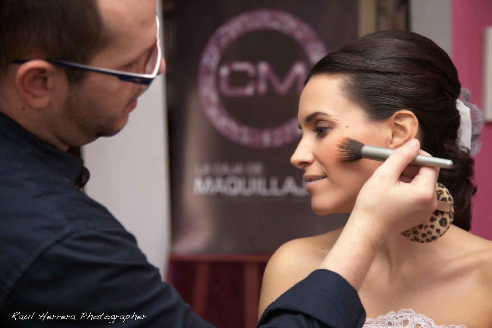 Maquillaje realizado por Manuel Andrade