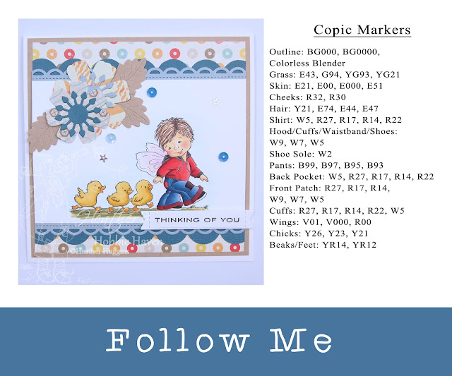 Heathers Hobbie Haven - Follow Me Card Kit
