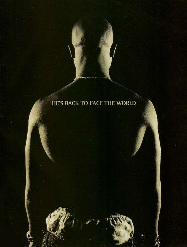 2Pac Me Against The World Press Kit 1995 Advertisement