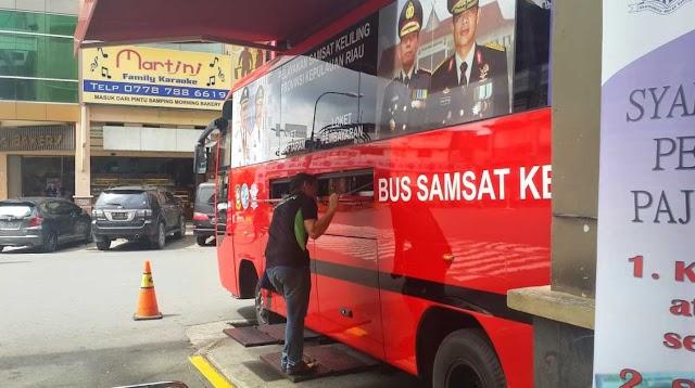 Jadwal dan Lokasi Samsat Keliling Kota Batam Bulan April 2018