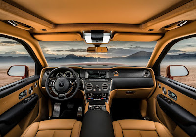 Source: Rolls-Royce. The interior of the Rolls-Royce Cullinan.