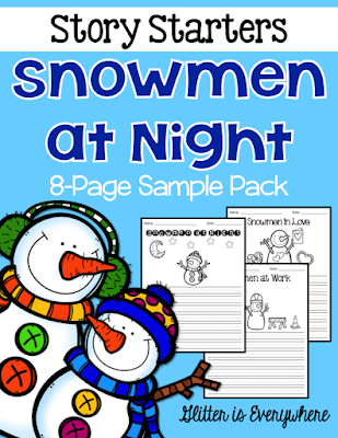 https://www.teacherspayteachers.com/Product/Story-Starters-Snowmen-at-Night-Sample-Freebie-2343999