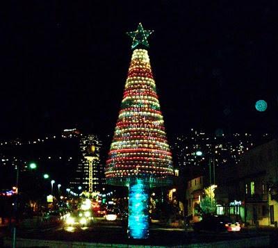 Новогодняя елка в Хайфе