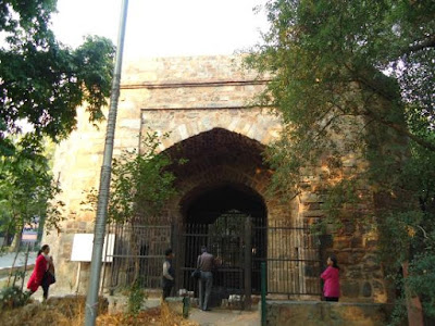 Haunted Khuni Darwaza In Delhi