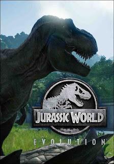 Jurassic World Evolution PC Game_cover