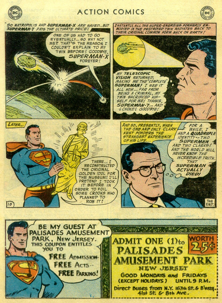 Read online Action Comics (1938) comic -  Issue #222 - 11