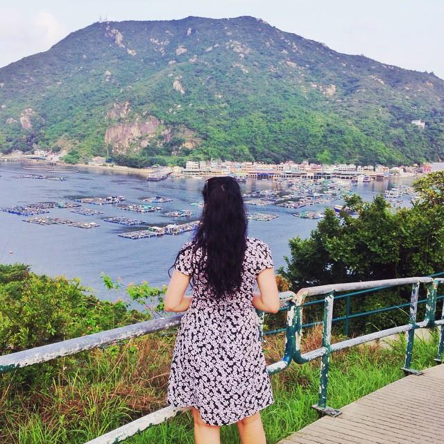 Emma Louise Layla in Lamma Island | Hong Kong travel blog | lifestyle blogger