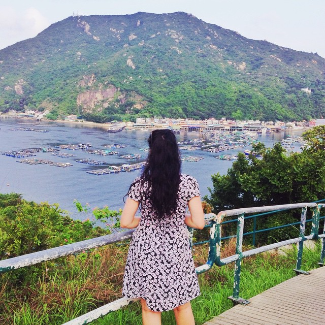 Emma Louise Layla in Lamma Island | Hong Kong travel blog | lifestyle blogger