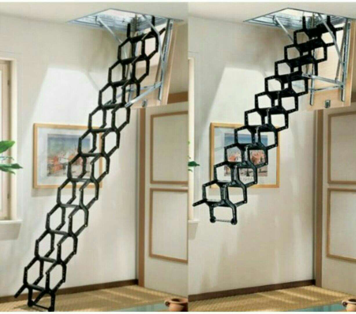 Charming Metal Stair Ideas For Small Spaces