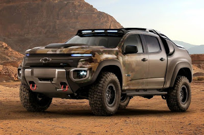 Chevrolet Colorado ZH2 Concept Crew Cab (2016 North American Spec) Front Side