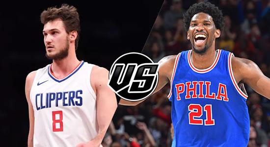 Live Streaming List: LA Clippers vs Philadelphia 76ers 2018-2019 NBA Season