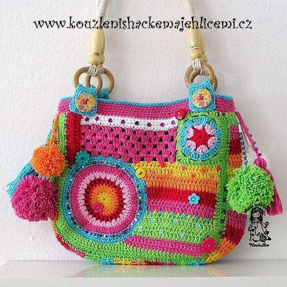 Bolsos,Mochilas,Carteras. | Crochet desde El Tabo.