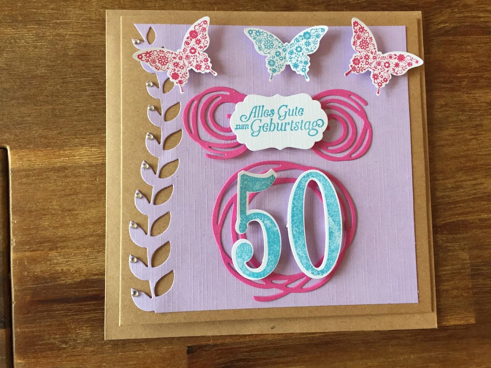 Mama Susi´s Stempel Ideen: Geburtstagskarte