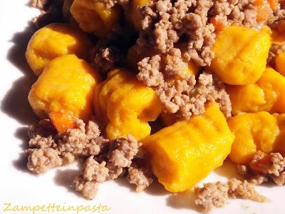 Gnocchi con zucca e patate