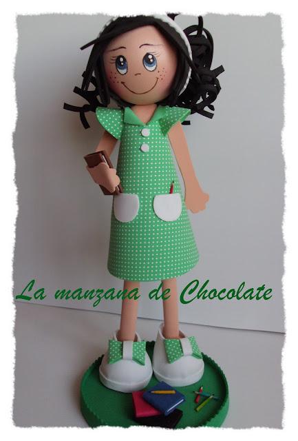 La manzana de chocolate: Fofucha Profesora