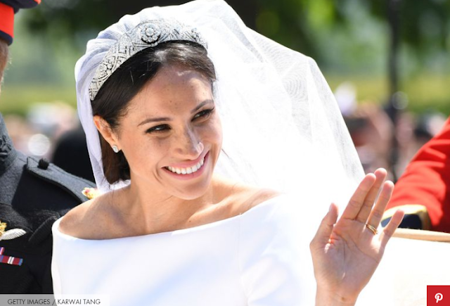 Meghan Markle's Wedding Day Picture