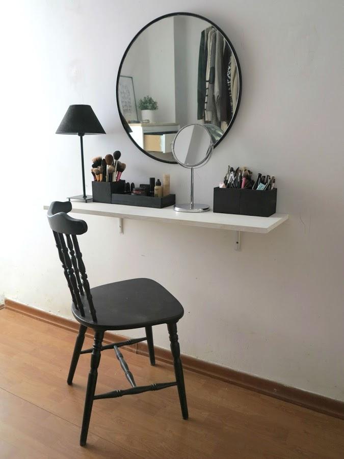 ideas para crear tu propio tocador muero de amor por la deco. Black Bedroom Furniture Sets. Home Design Ideas